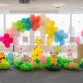【ファミリーデー装飾】<br> 会社でファミリーデーを企画する人向け! <br>子どもが喜ぶバルーン装飾とは