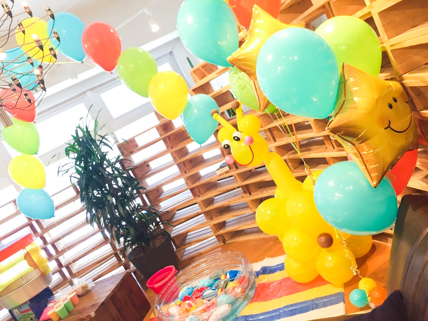 【K-1】七夕の日のファミリーデー | バルーン出張装飾、ホテル ...