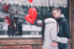バレンタインサプライズプロポーズ